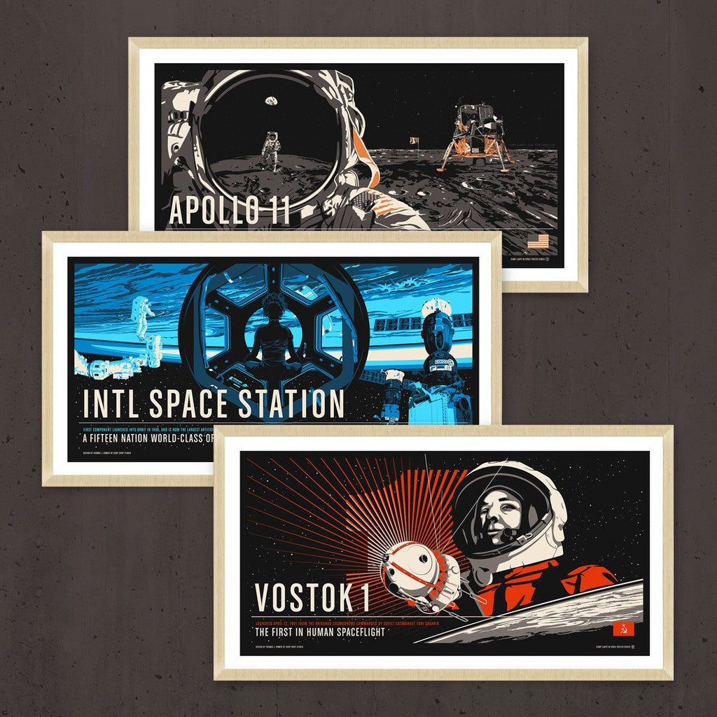 Giant Leaps in Space Poster Series Pre-Order