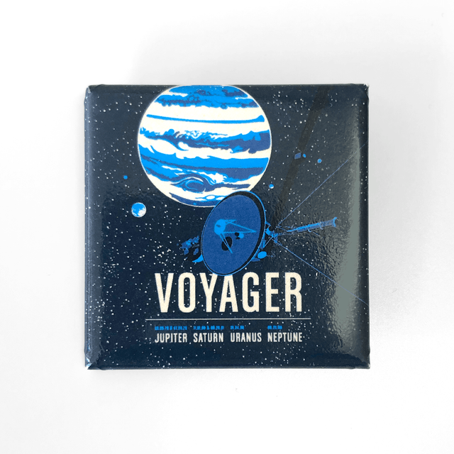 Voyager Squared Button