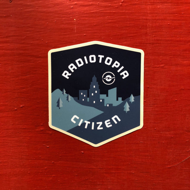 Radiotopia Citizen Sticker