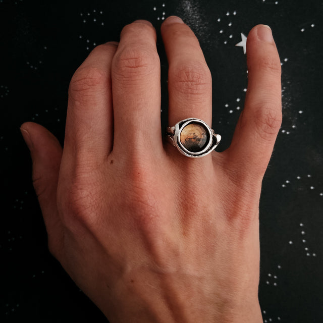 Mars and Moons Ring - Yugen Tribe