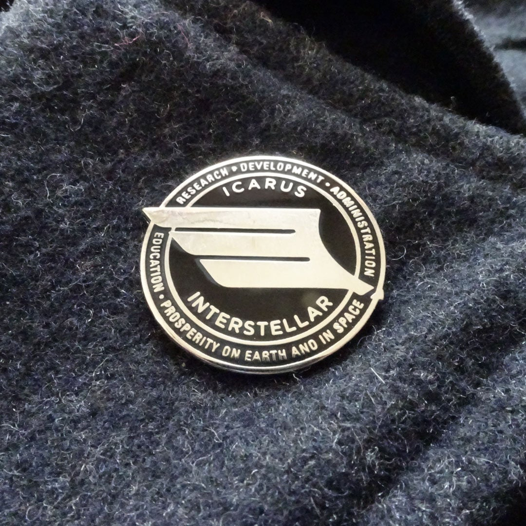 "Icarus Interstellar ""Iron Wing"" Lapel Pin"