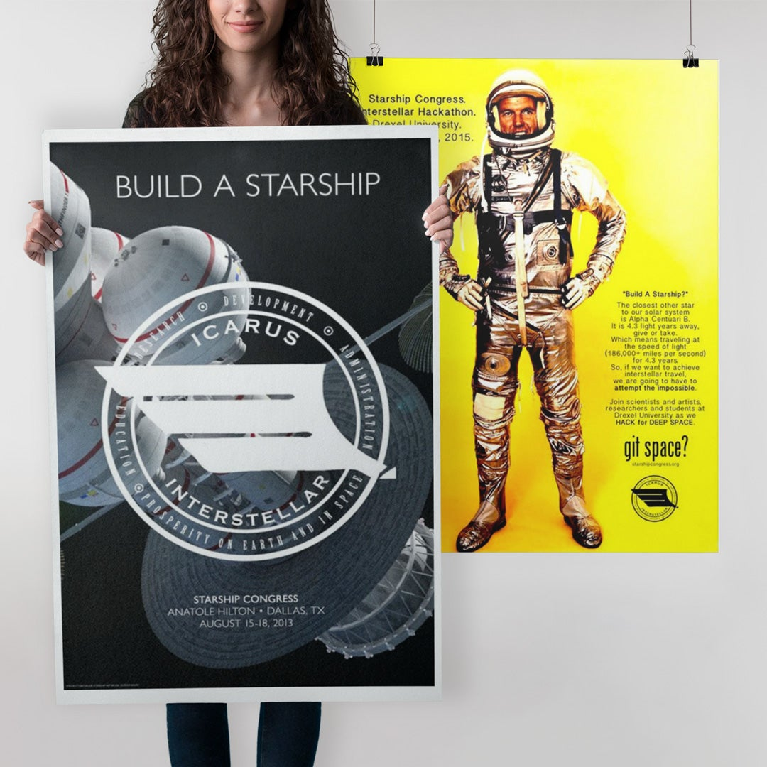 Starship Congress Two-Poster Set