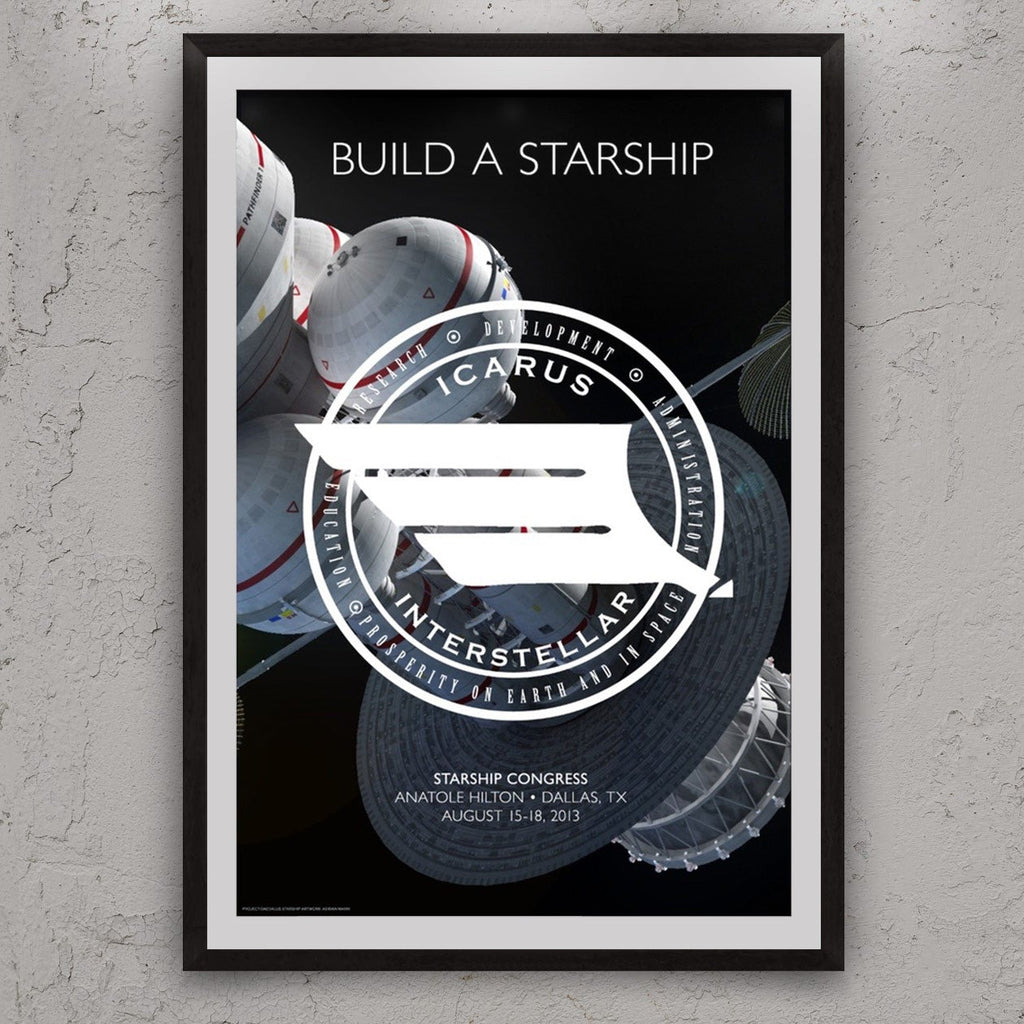 Build a Starship Poster