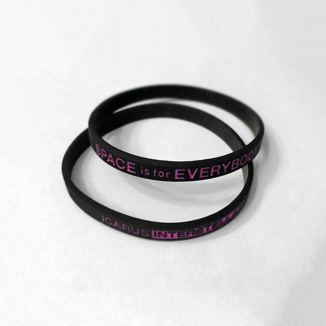 Space is for Everybody Wristband