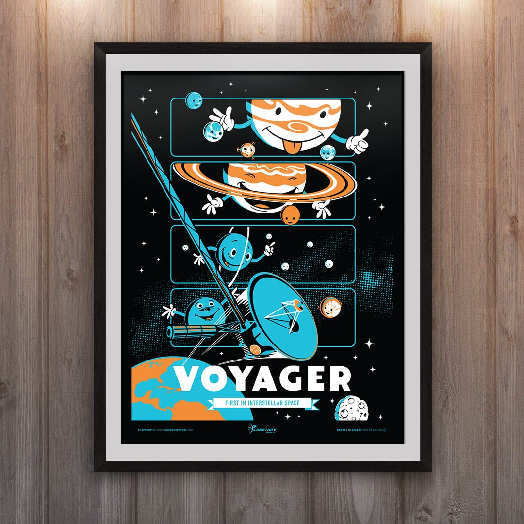 Robots in Space: Voyager!