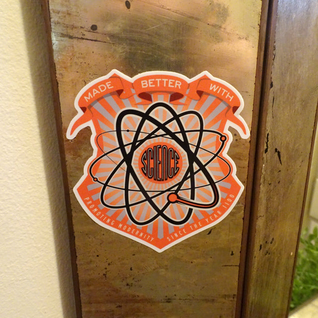 Made Better with Science! Sticker