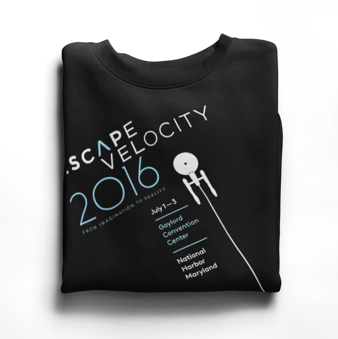 Escape Velocity Official 2016 Tee