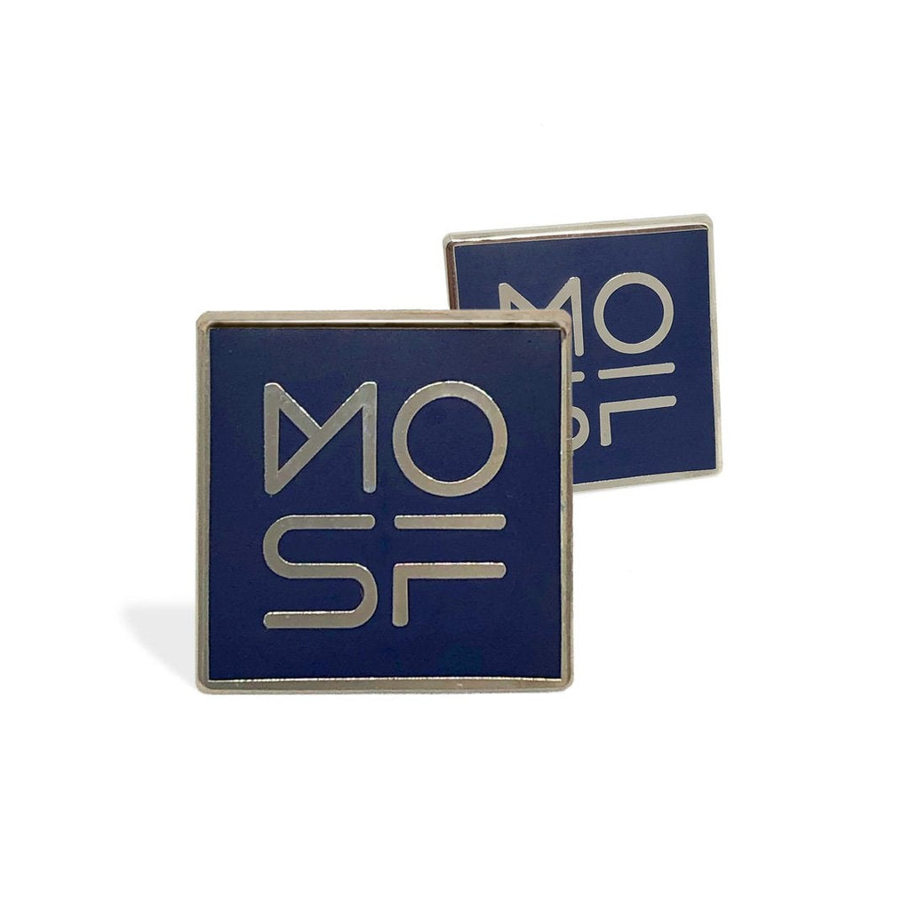 Museum of Science Fiction branded Lapel Pin