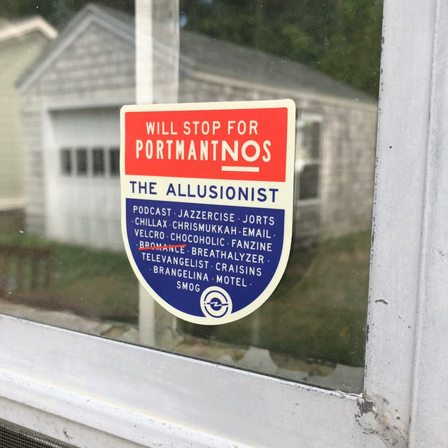 Allusionist Portmantnos Sticker