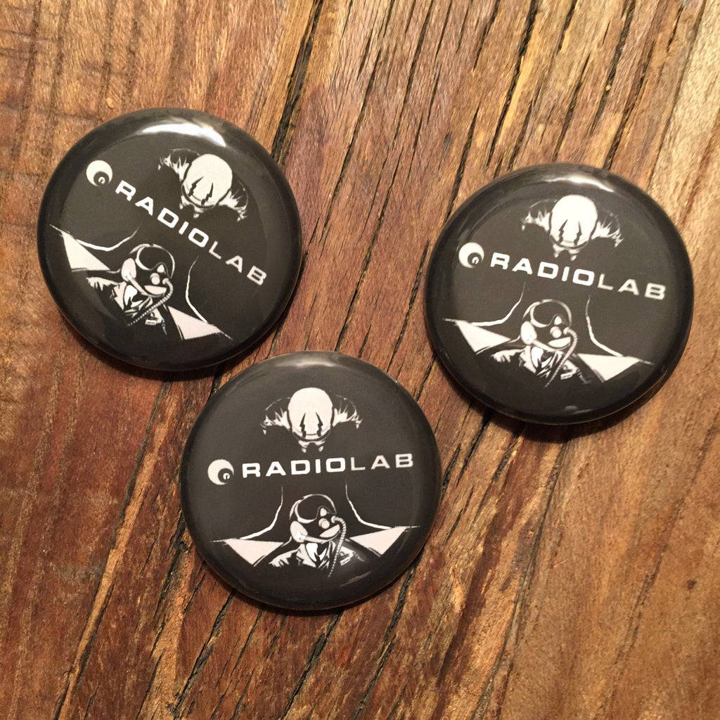 Radiolab Where Am I? Buttons
