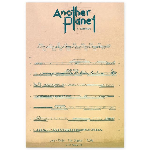 Another Planet Screen Print for Love + Radio