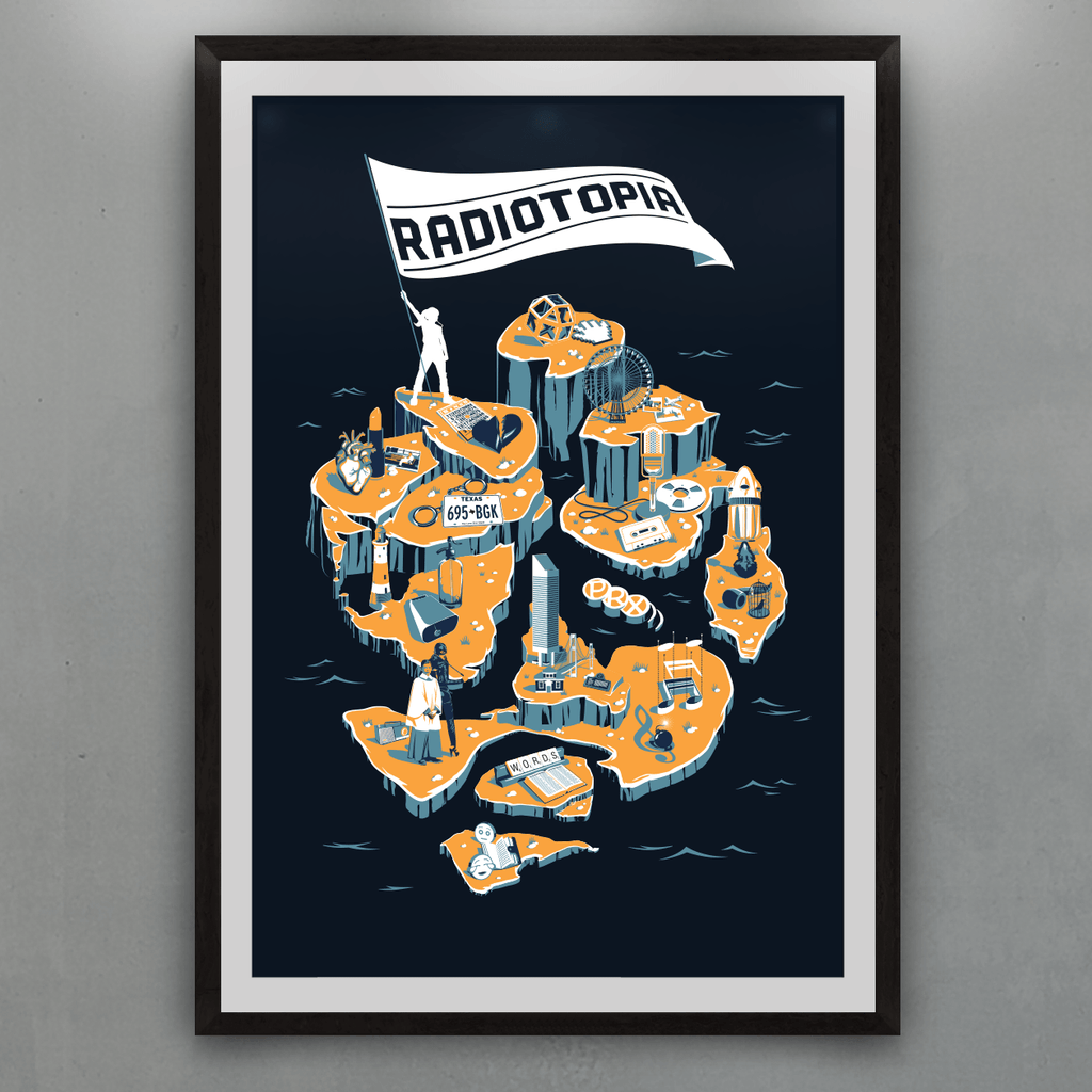 The Islands of Radiotopia Print