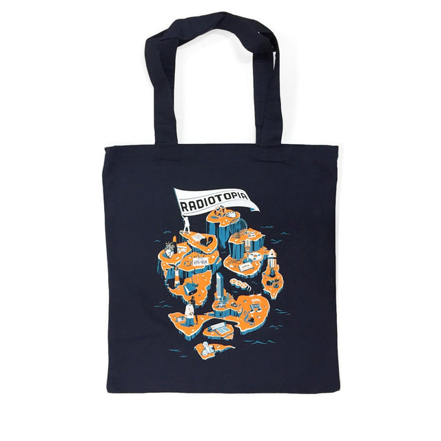 Islands of Radiotopia Tote Bag