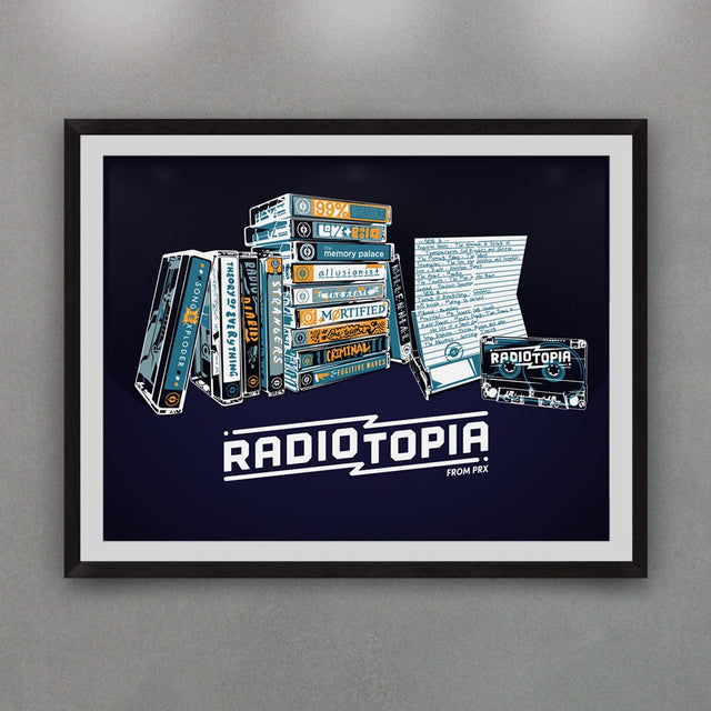 Mixtape Print for Radiotopia