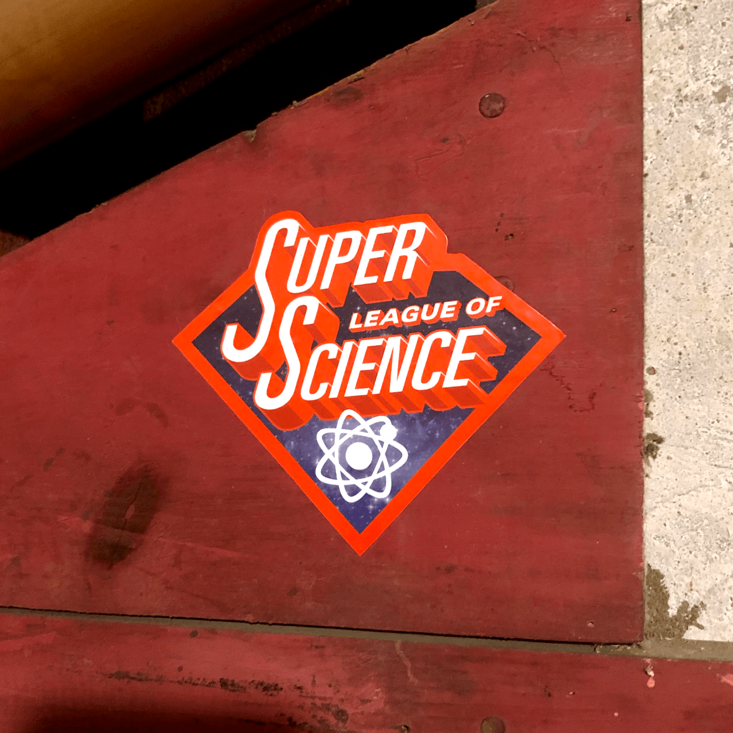 Super League of Science Stickers