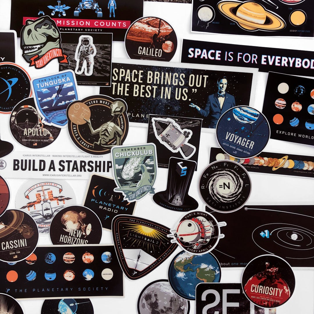 Space Stickers Massive Pack