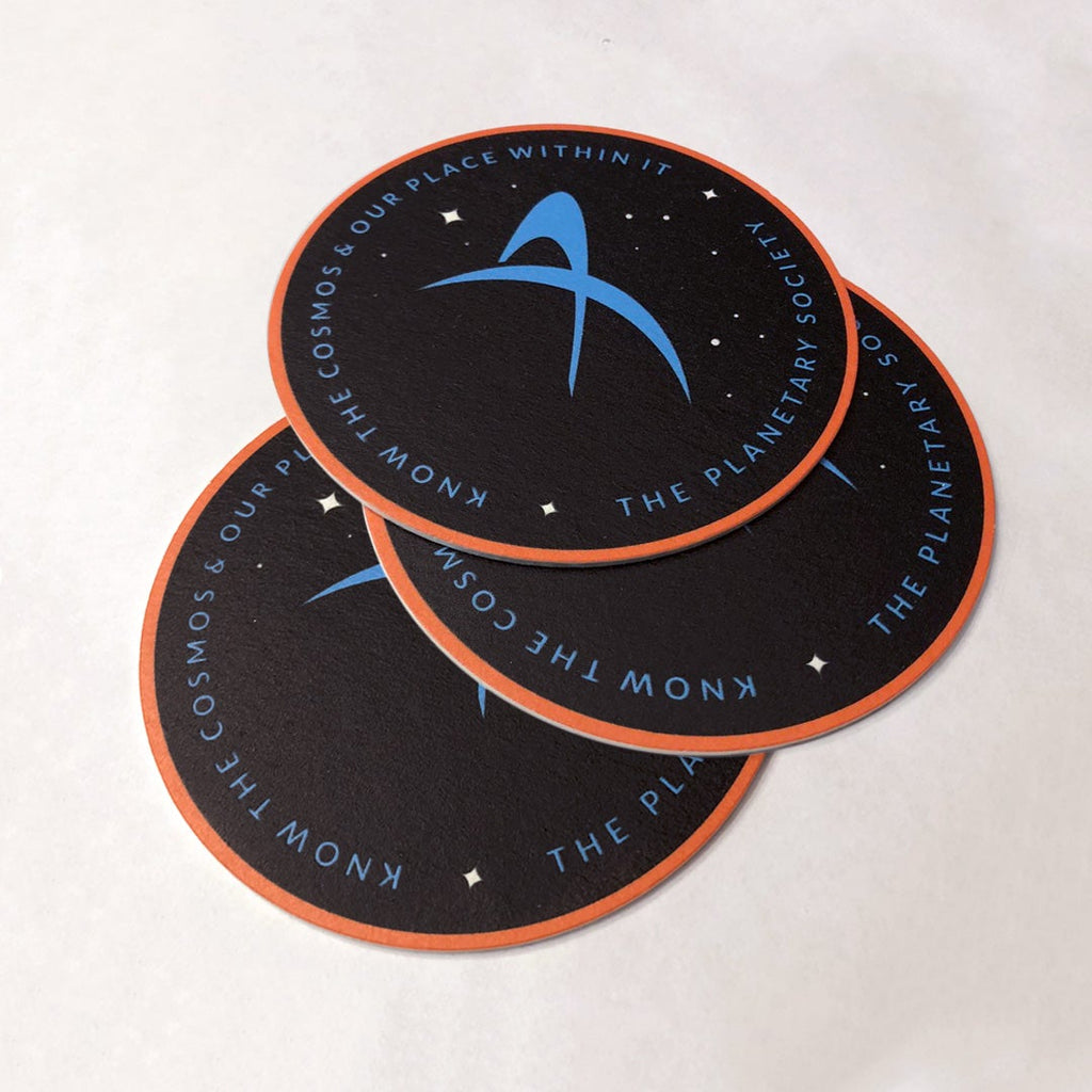 The Planetary Society Brand ID Cosmos Coasters