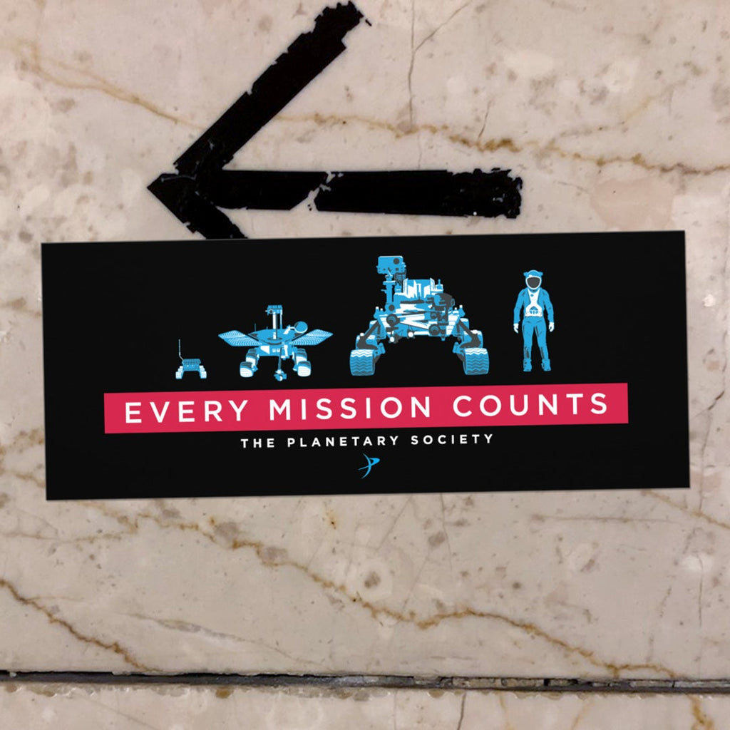 Every Mission Counts Bumper Sticker