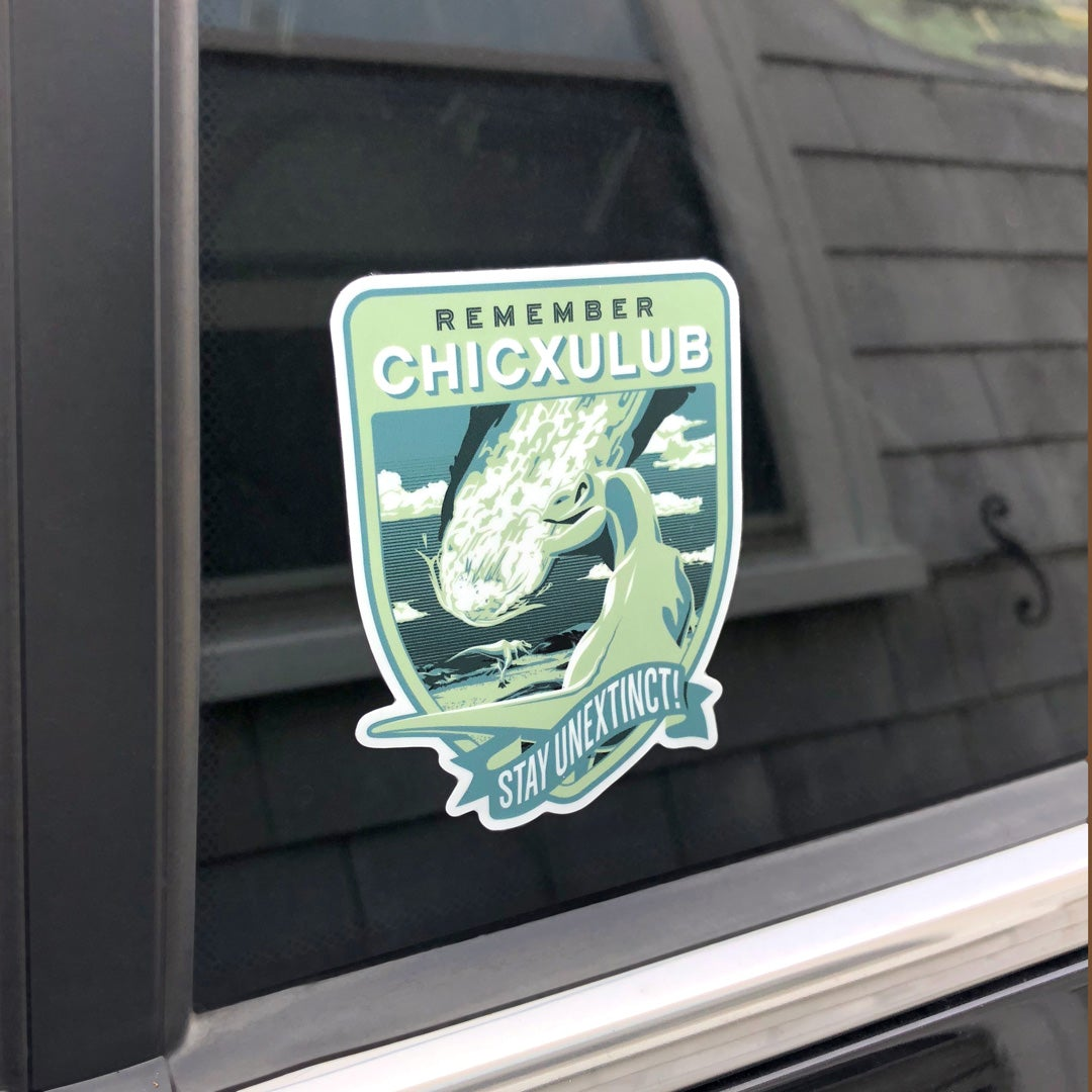 Remember Chicxulub Sticker