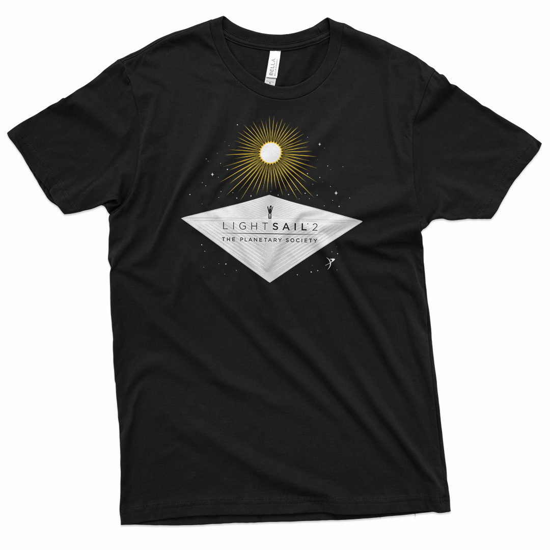 LightSail 2 Tee for The Planetary Society