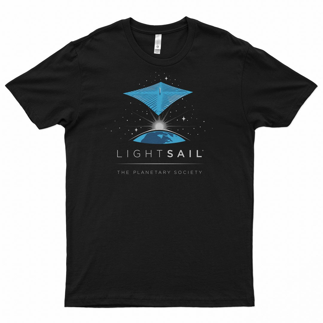 LightSail 1 Tee for The Planetary Society