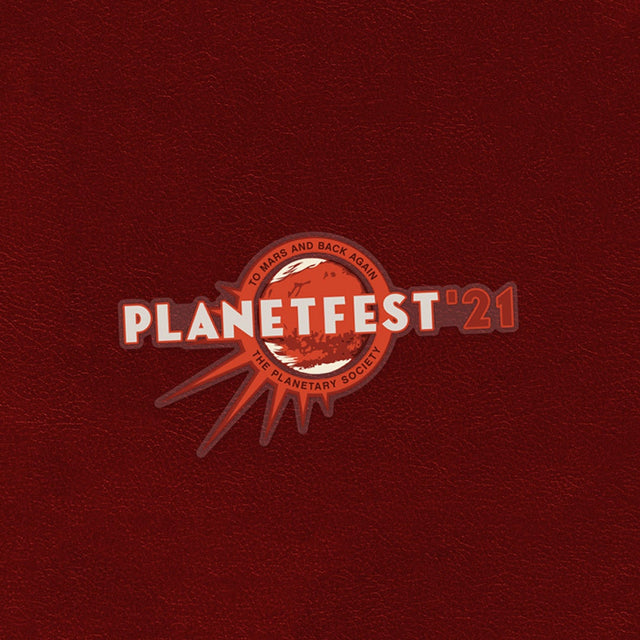 Planetfest '21 Sticker for The Planetary Society