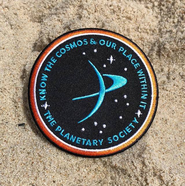 Know the Cosmos Brand ID Patches for The Planetary Society