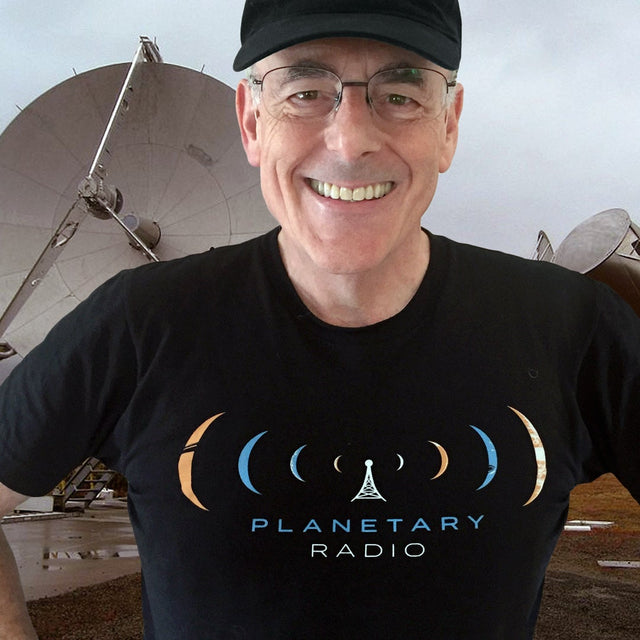 Planetary Radio Tee for The Planetary Society