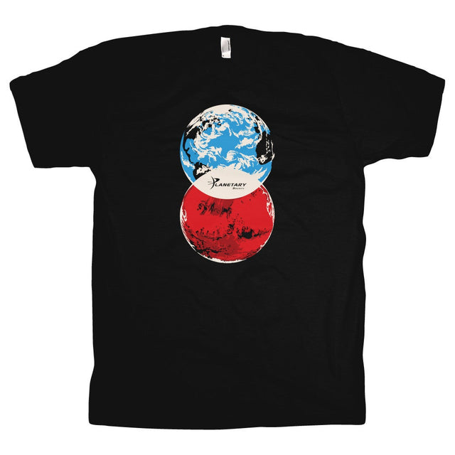 Venn Diagram Tee for The Planetary Society