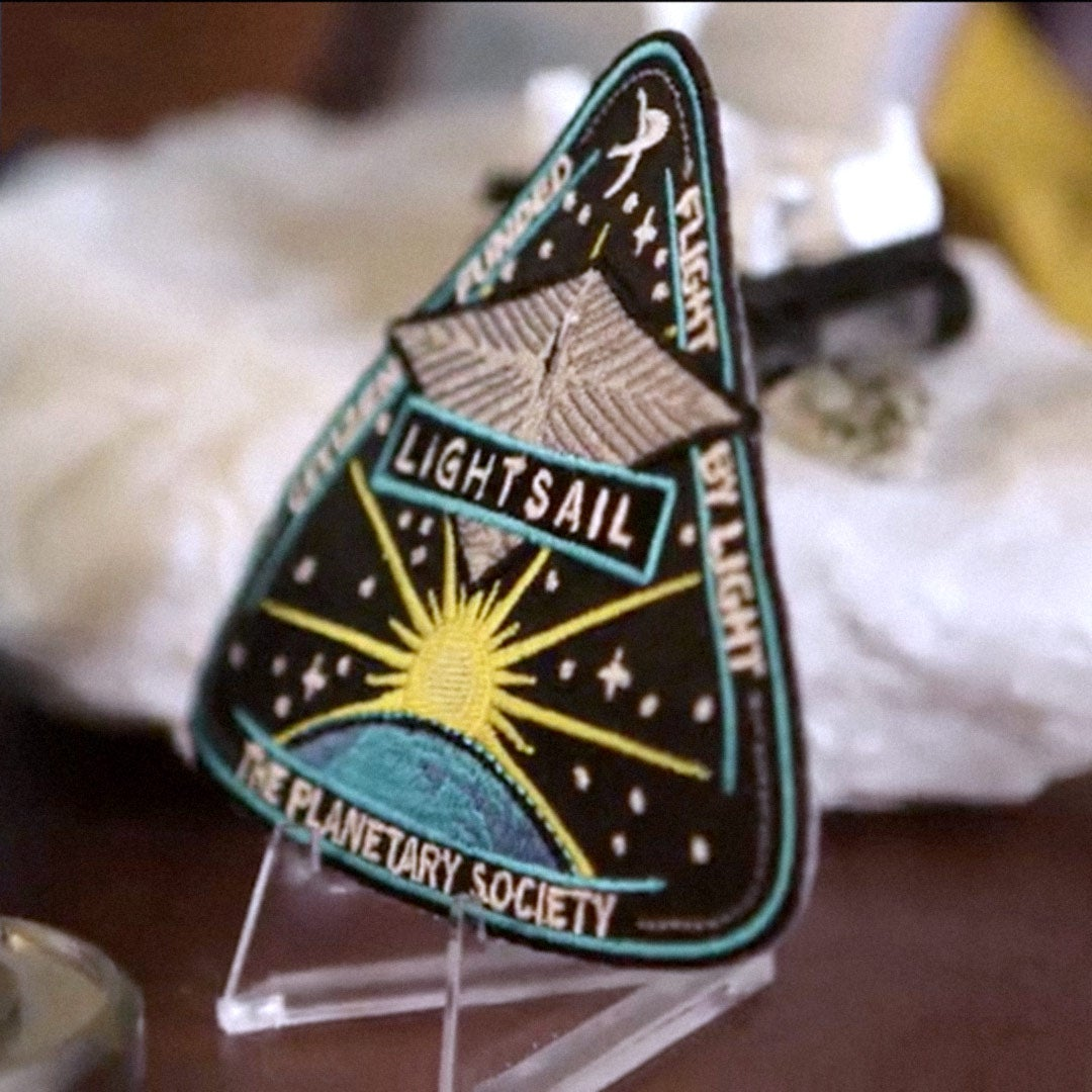 LightSail Mission Patches