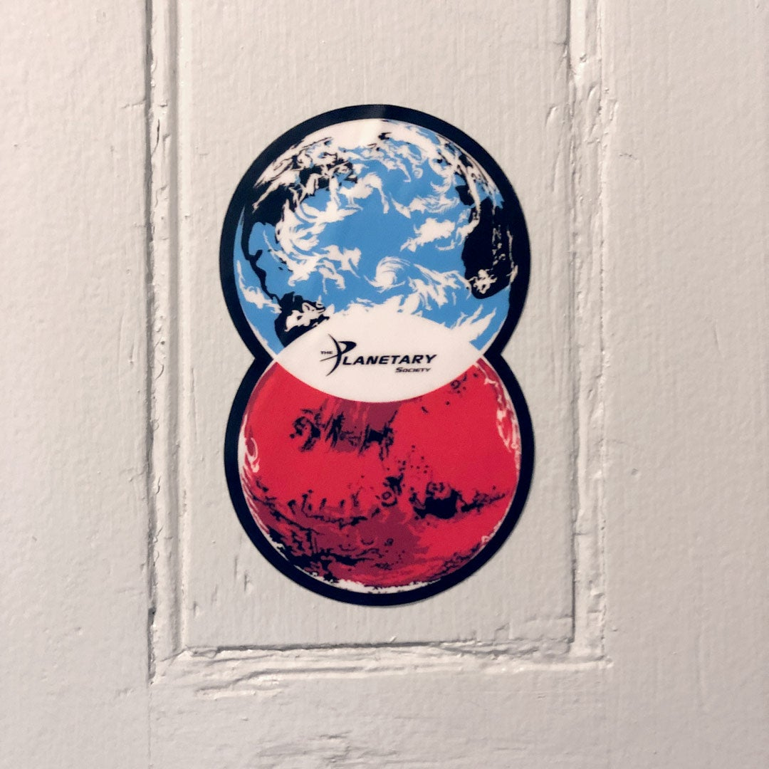 Venn Diagram Sticker for The Planetary Society