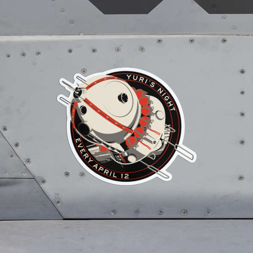 First Spaceship Sticker for Yuri's Night