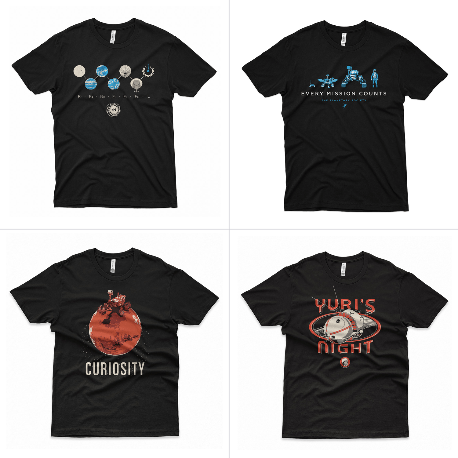 The Monthly Space Tee Club