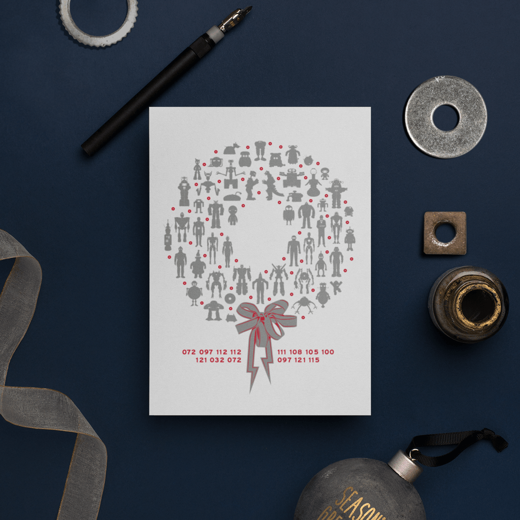 Robots Holiday Card