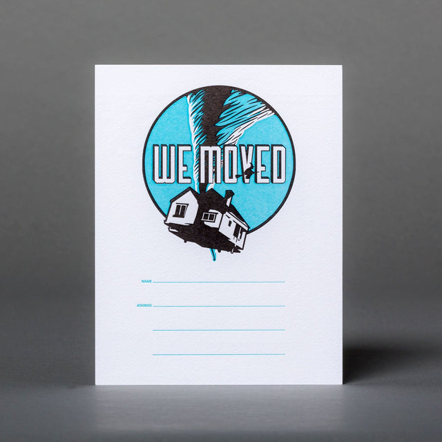 Wizard of Oz We're Moving Postcards