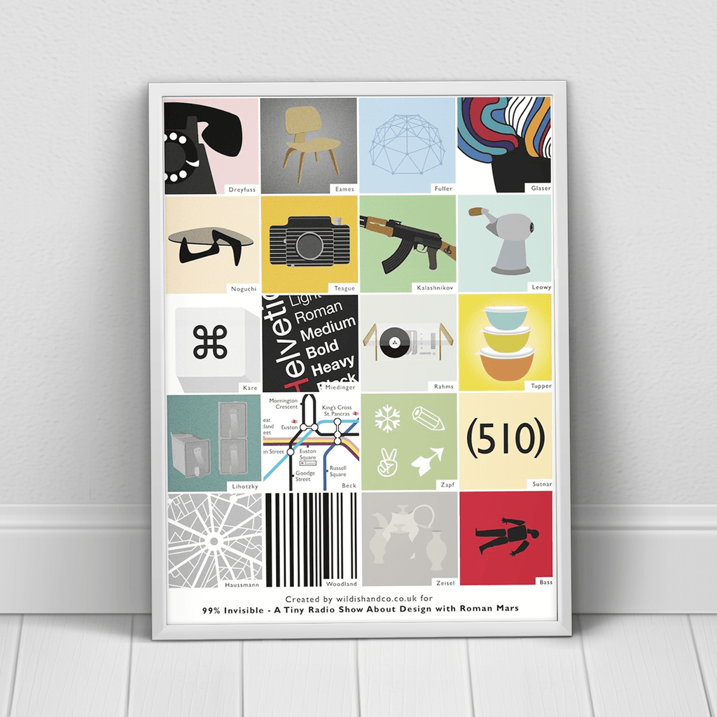 Designer Poster for 99% Invisible