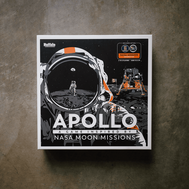 Apollo NASA Moon Missions Board Game