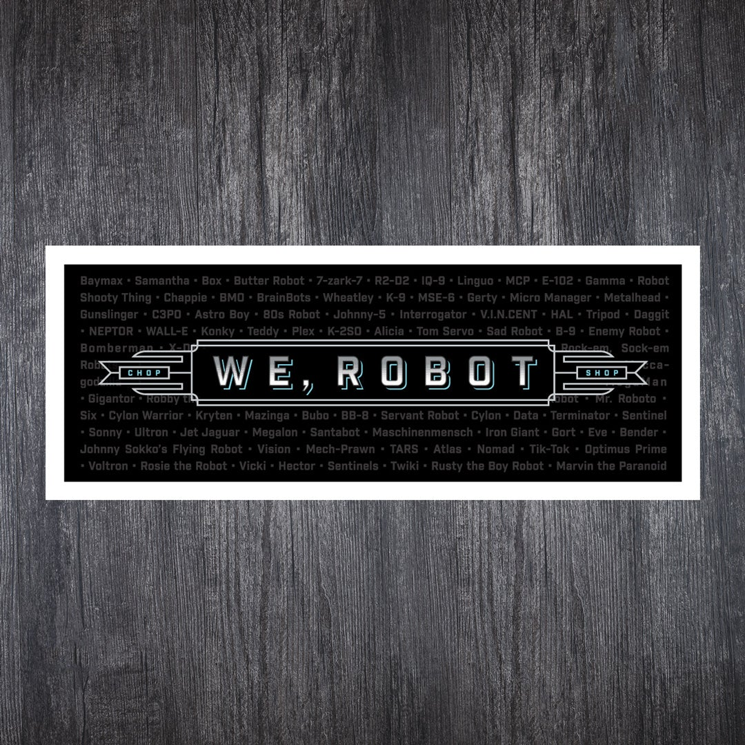 WeRobot 10th Anniversary Gift Set