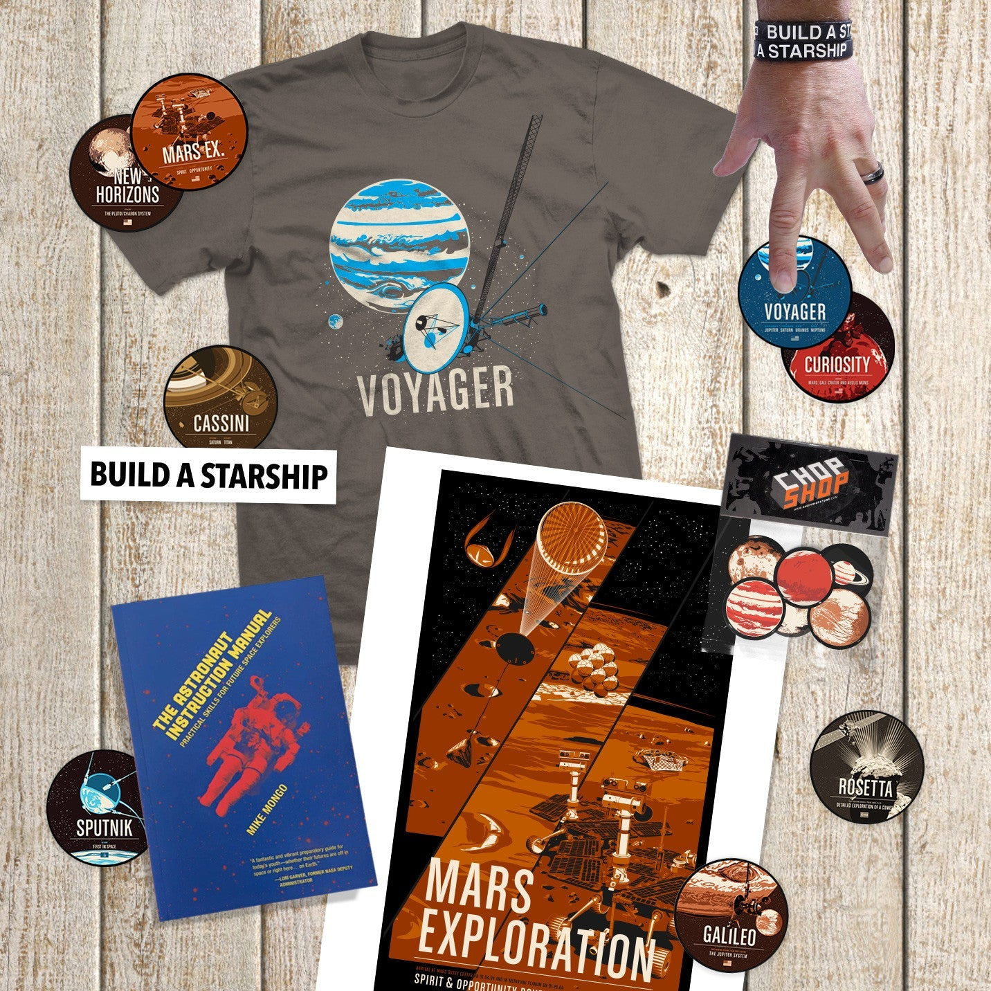 Gift Set: Kids in Space