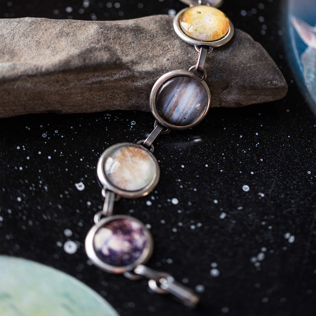 Galilean Moons of Jupiter Bracelet