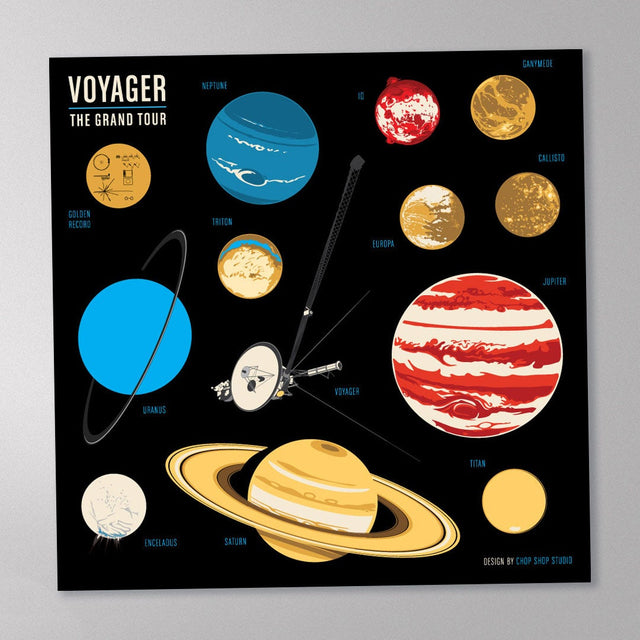 Voyager's Grand Tour Sticker Set
