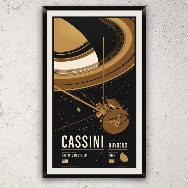 Cassini from the Historic Robotic Spacecraft Series