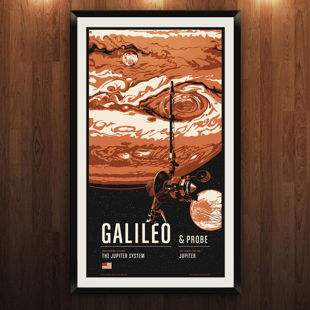 Galileo from the Historic Robotic Spacecraft Series