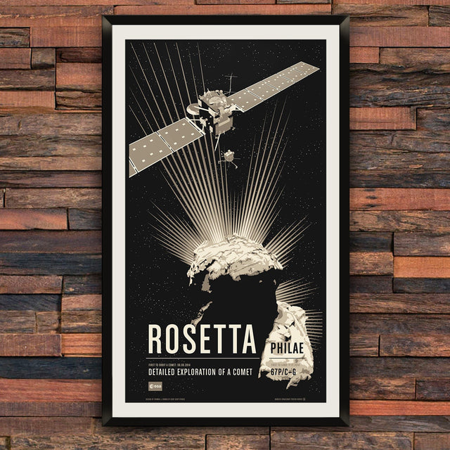 Rosetta from the Historic Robotic Spacecraft Series
