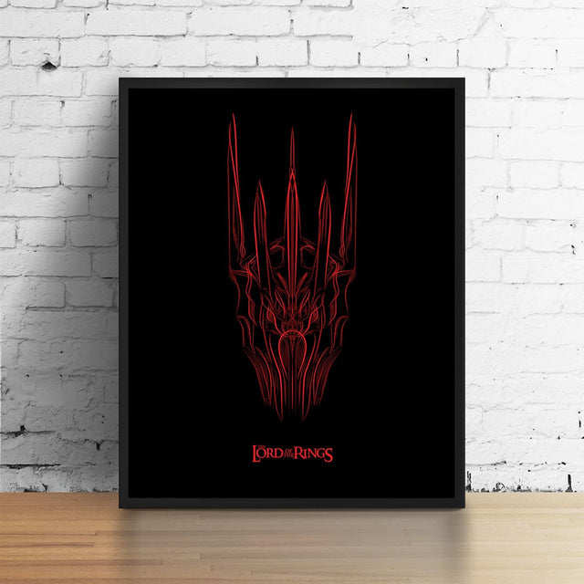 Sauron the Pinstriped Archival Digital Print