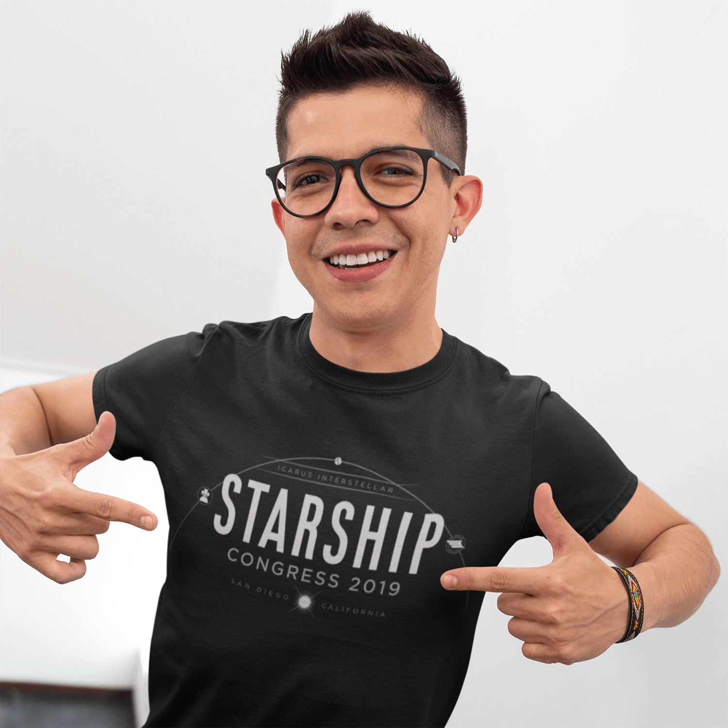 Starship Congress T-shirt for Icarus Interstellar