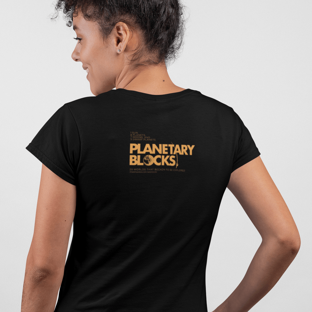 Planet or World Tee for Planetary Blocks