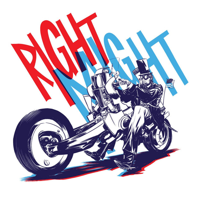Right Might (Lincoln Rides a Fat Hog)