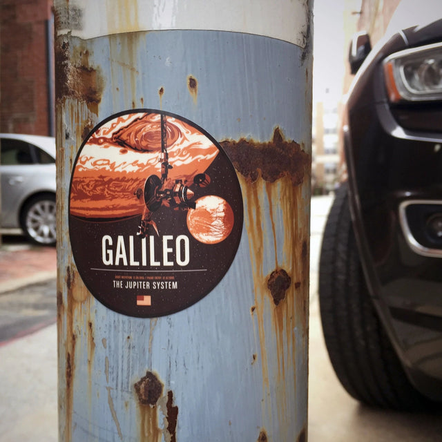 Galileo Sticker from the Historic Robotic Spacecraft Series