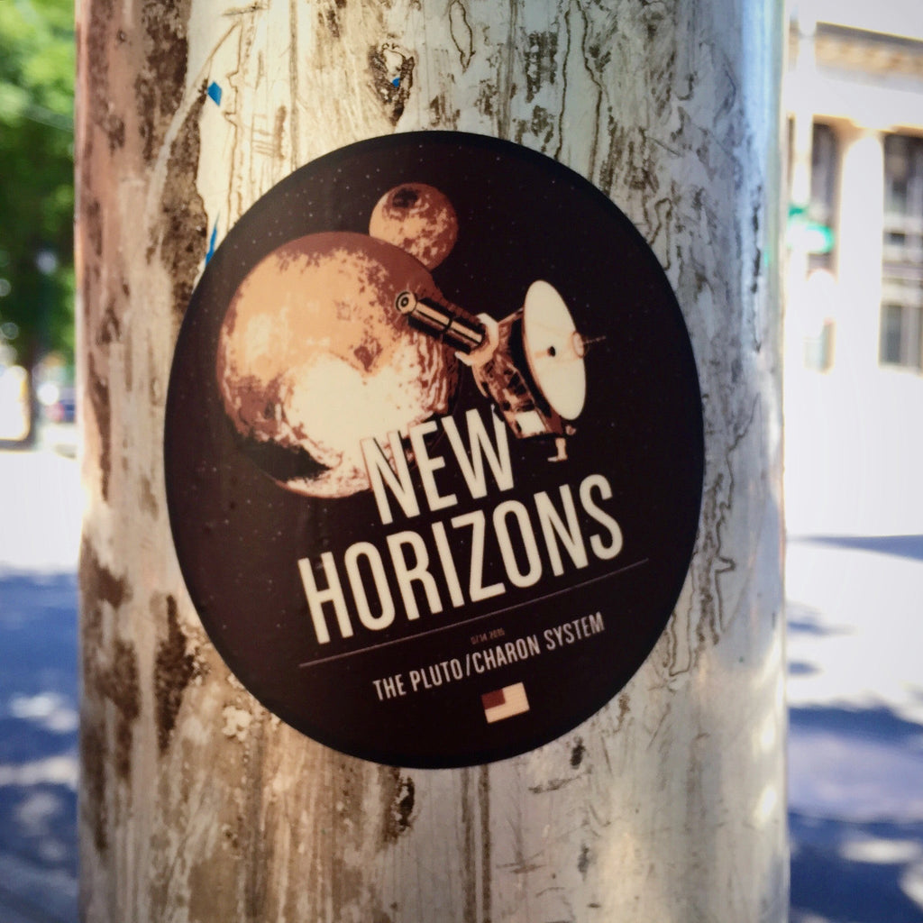 New Horizons Sticker from the Historic Robotic Spacecraft Series
